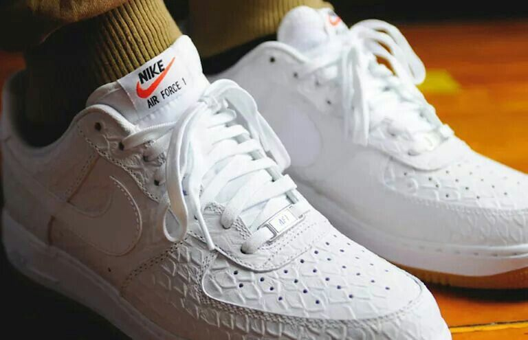 Nike Air Force One White Croc | Nike
