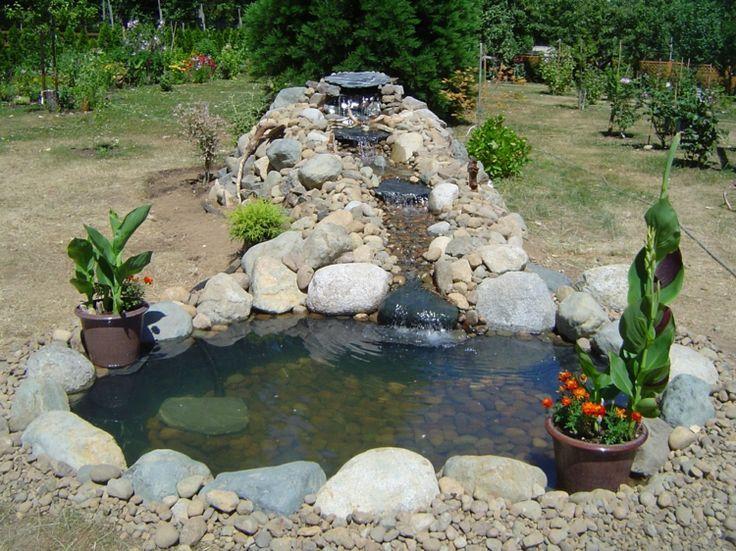 Bildergebnis Für Bachlauf Dachrinne Gartenteich Selber Bauen, Gartenteich  Bilder, Topfpflanzen, Landschaftsbau, Balkon