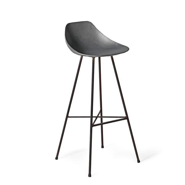 As Shown Get The Scoop Barstool Size 17 X 38 5 H Inches