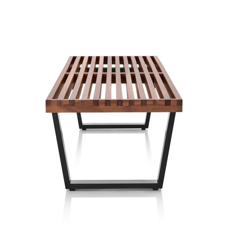 Incredible Herman Miller Nelson Platform Bench Wood Base Bench Gmtry Best Dining Table And Chair Ideas Images Gmtryco