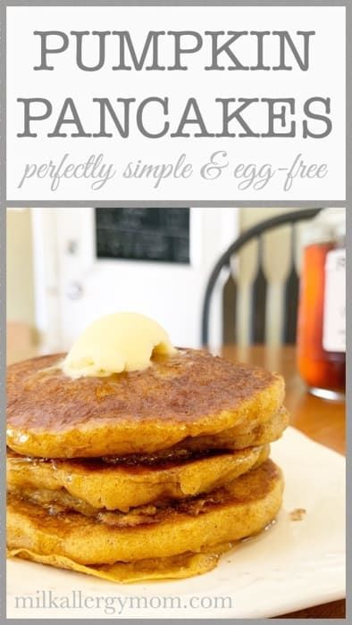 Perfectly Simple Pumpkin Pancake Recipe | Dairy-Free & Egg Free Vegan - #dairy #DairyFree #Egg #Free #pancake #perfectly #pumpkin #recipe #Simple #vegan