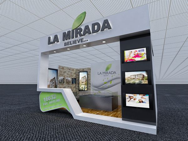 Exhibition Design: LA MIRADA Booth 2 on Behance
