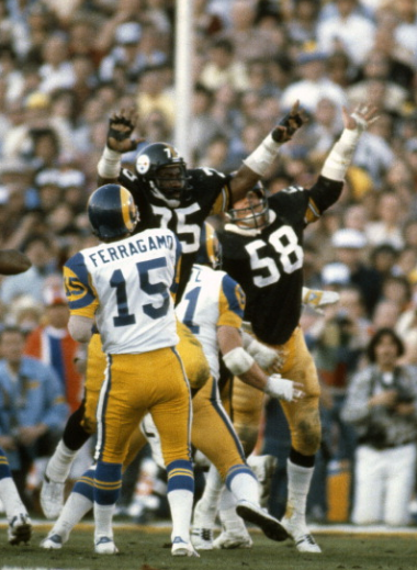 7da69e9af Mean Joe Greene and Jack Lambert  Super Bowl XIV Nfl Football Players