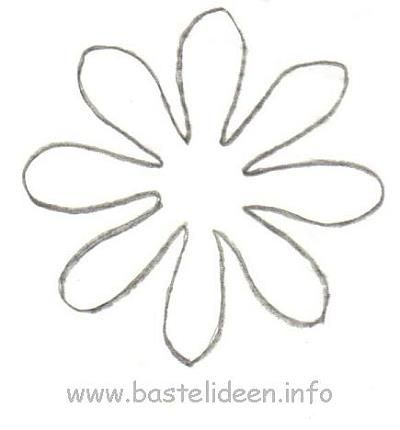 blumen vorlage spring fr hling pinterest template. Black Bedroom Furniture Sets. Home Design Ideas