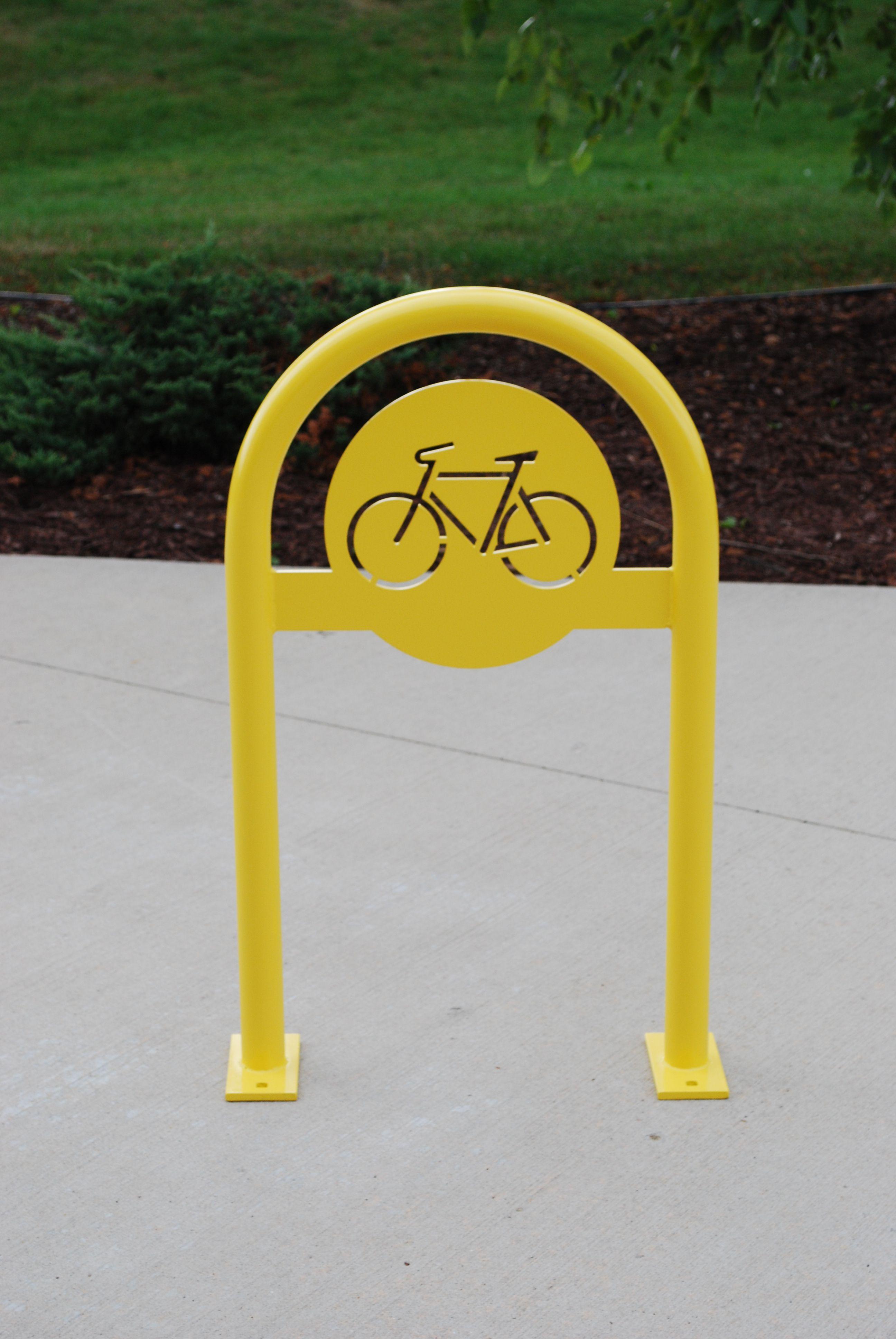 custom bicycle u rack madrax bike
