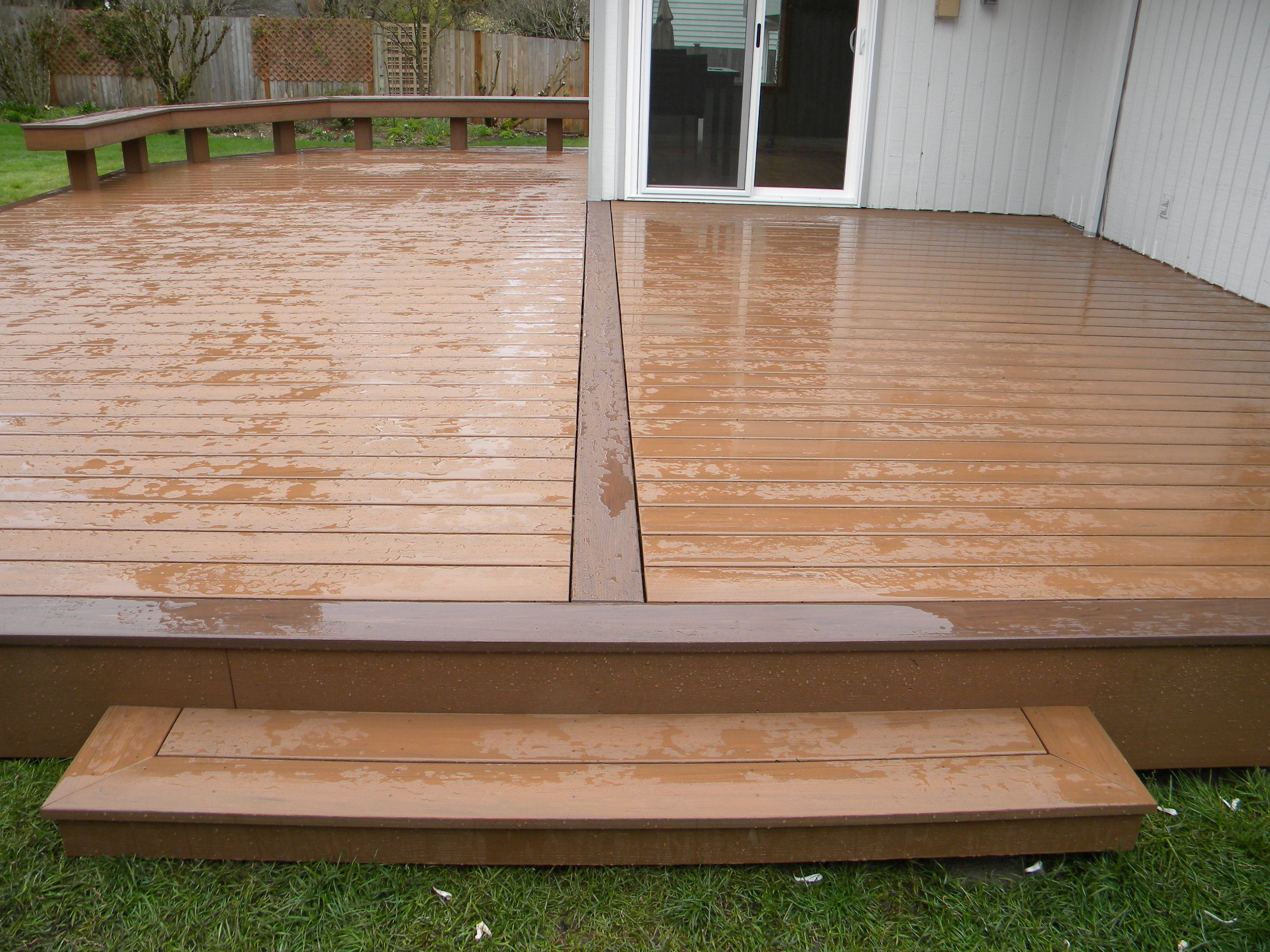 Interesting azek decking for deck ideas sandybrown azek decking are you having trouble deciding between a wood deck and a composite deck on one hand traditional wood decking is cheaper to install but expensive and baanklon Image collections