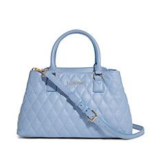 92b99a6939fc Quilted Emma Satchel in Chambray