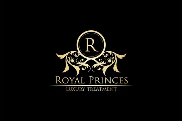 Royal Princes Luxury Logo Luxury Logo Lettering Design Luxury