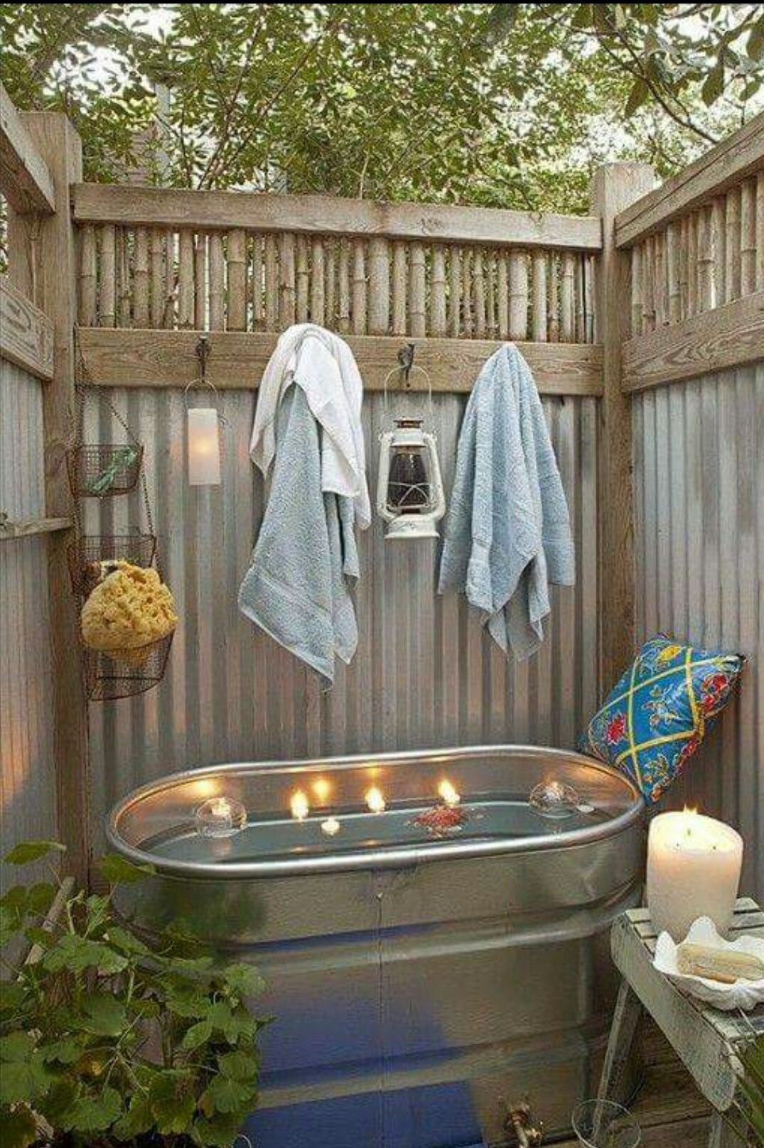 Hottub In De Tuin Badderen In De Tuin My Future Home In 2019 Outdoor Bathtub