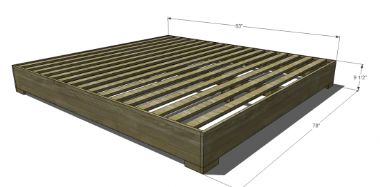 1000 images about diy woodworking free king size bed frame plans pdf download on pinterest home projects king size bed headboard and platform bed frame - How To Build A King Size Bed Frame