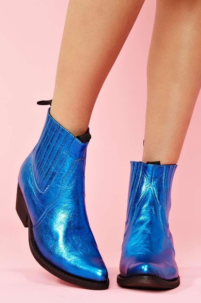 Yuma Boot - Electric Blue