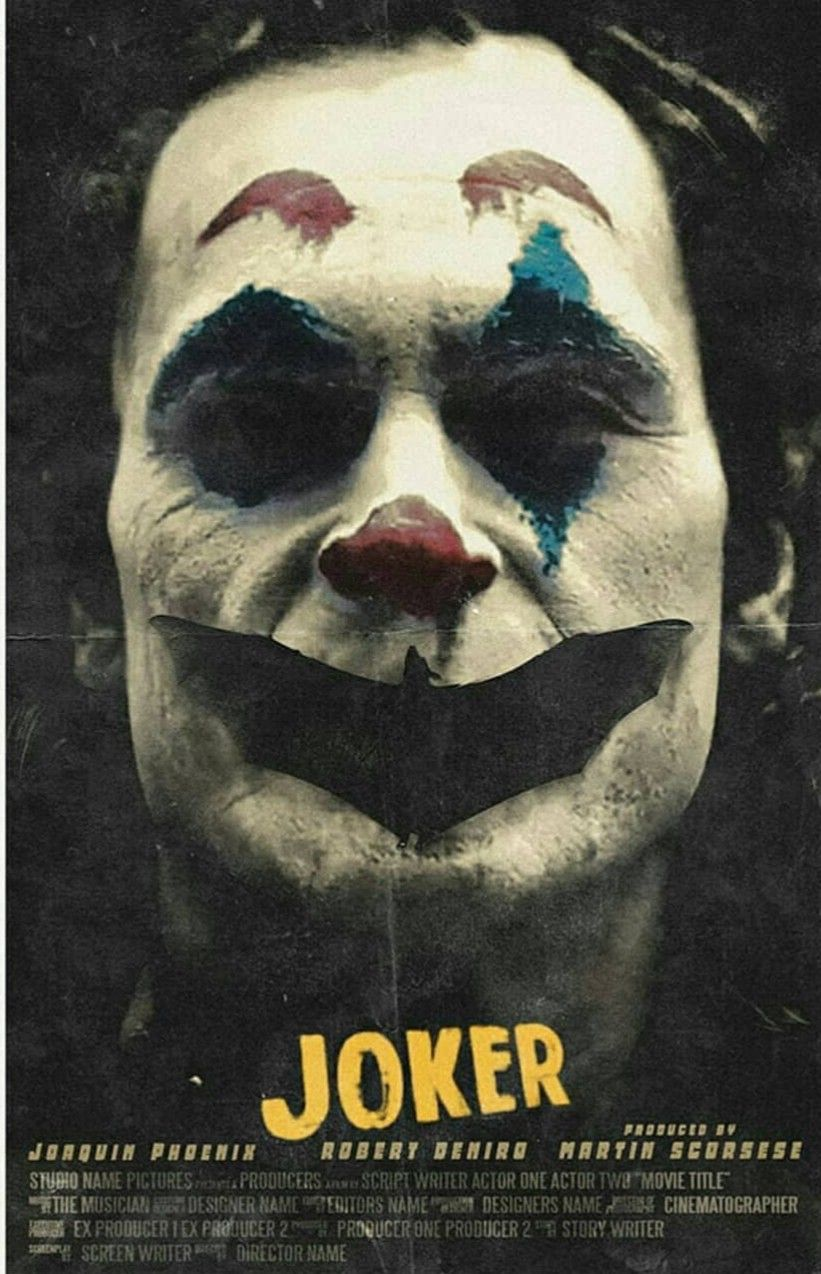 The Joker Poster Yperhrwes Poya