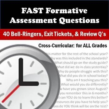 Formative Assessment Display Questions {Cross-Curricular} Bell