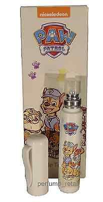 ZARA KIDS - PAW PATROL - CHILDREN'S EAU DE TOILETTE Natural Spray 10ml NEW BOXED