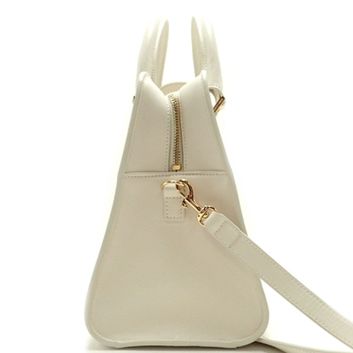 3994e0b4eeb67 Saint Laurent YSL Women's White Cabas Satchel Handbag 472469 ...