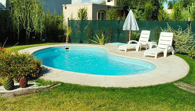 piscina-de-fibra- com borda escondida sítio Pinterest Swimming