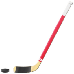 Ice Hockey Stick And Puck Emoji U 1f3d2 Ice Hockey Sticks Ice Hockey Hockey Stick
