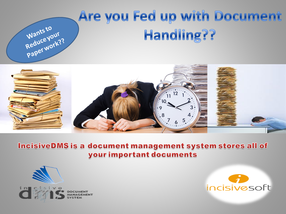 Do you want to reduce your paper Work?? Does Document