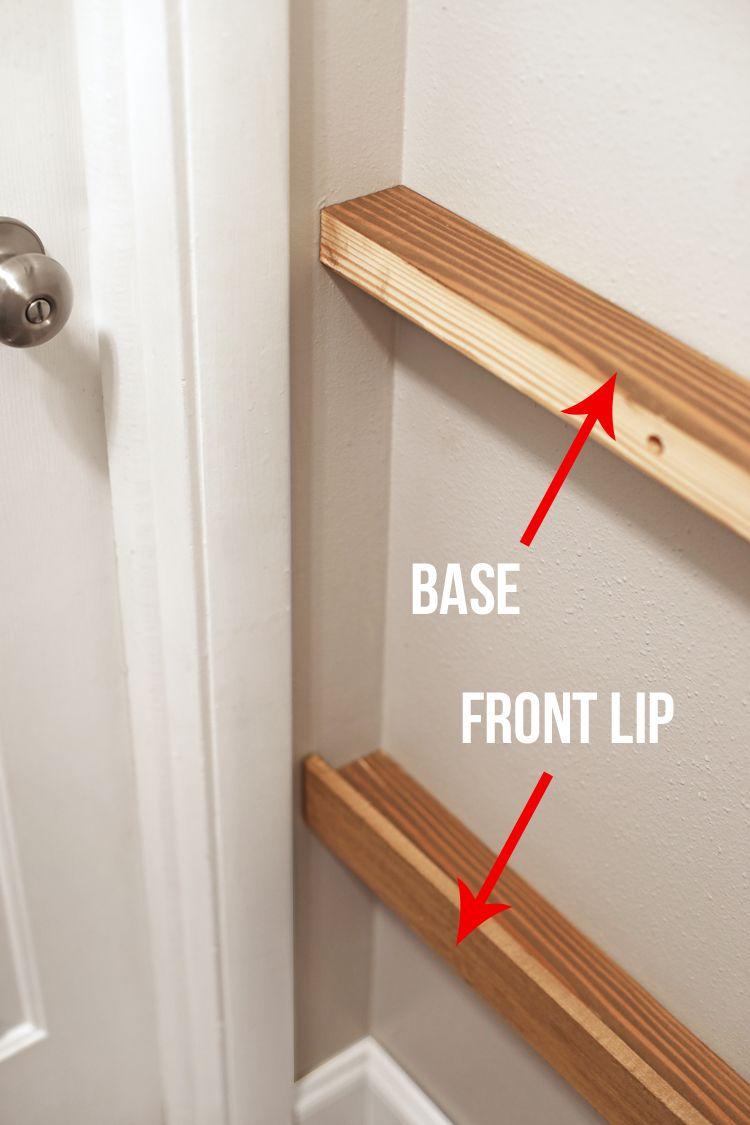 picture ledge diy floating shelves interior estantes flotantes rh pinterest es how to build shelves in a garage how to build shelves into a wall