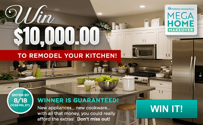 Free Online Sweepstakes Contests Pch Com Love This New Kitchen