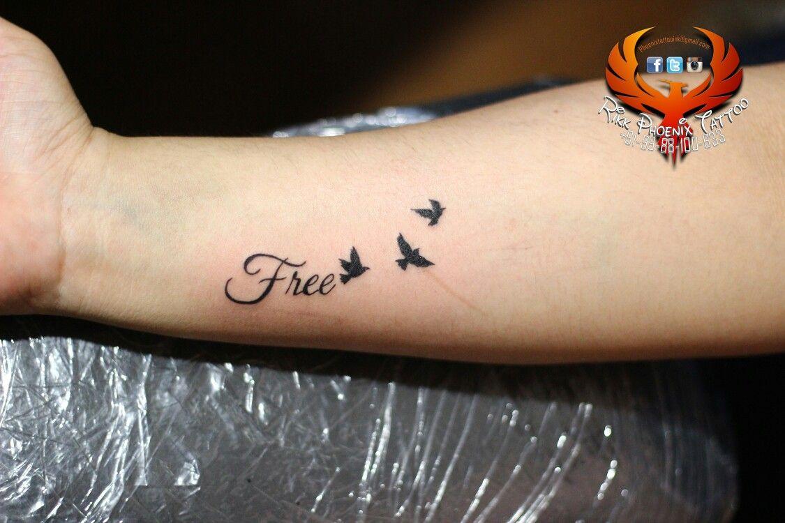 Free Birds Tattoo Design Birdstattoo Quotationtattoo Qualitywork Rikkphoenixtattoo Follow Free Bird Tattoo Birds Tattoo Lynyrd Skynyrd Free Bird Tattoo