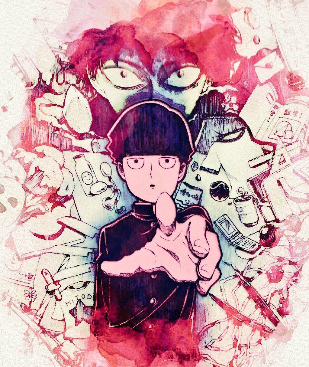 M O B P S Y Image By Mintylilacmelody Mob Psycho 100 Anime