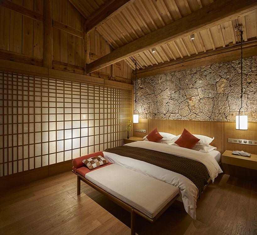 yoshimasa tsutsumi renovates and extends chinese housing into rh pinterest com