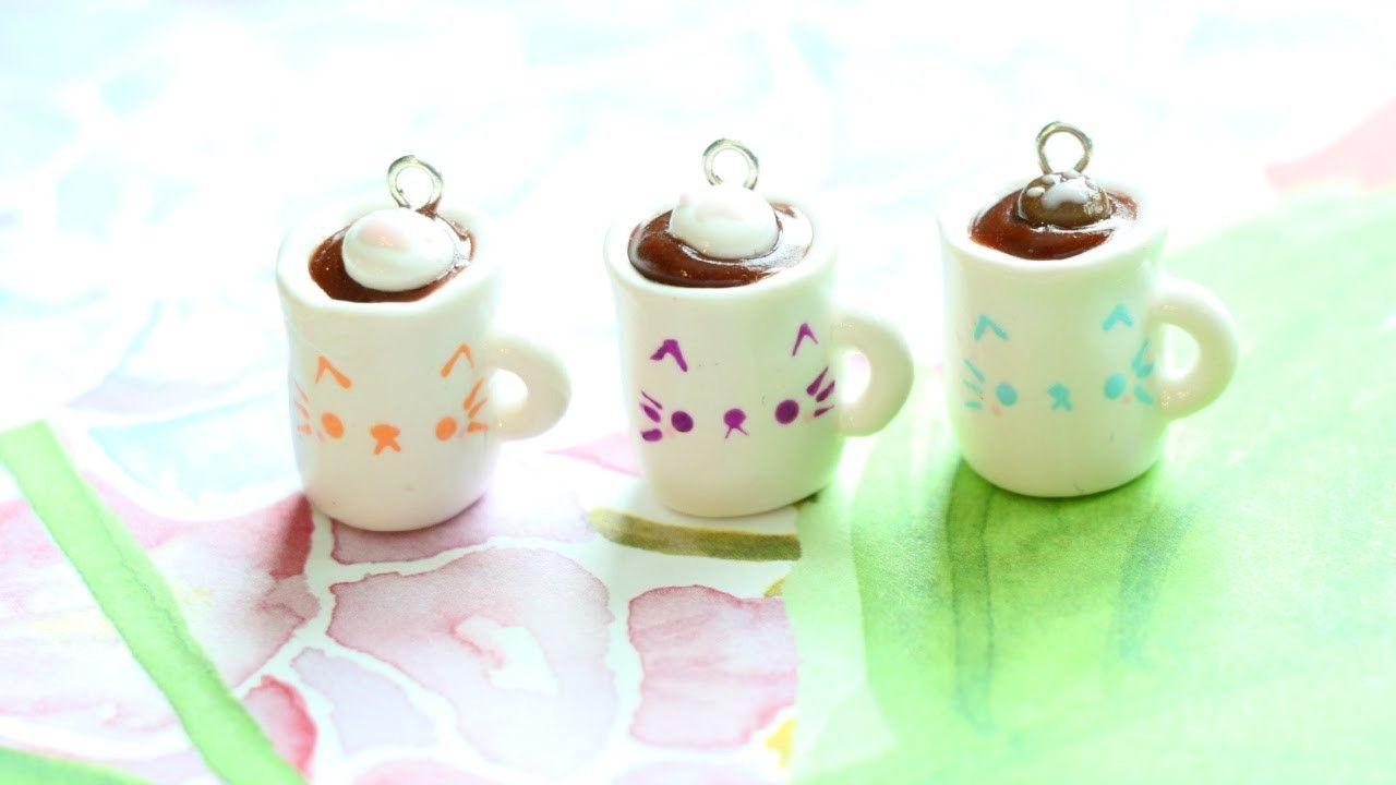 5Pcs Mini dollhouse coffee cup drink home tableware decors dolls accessor z.