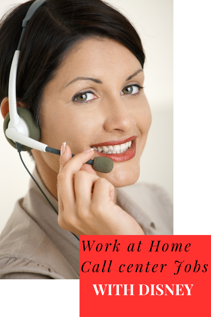 Disney Work At Home Call Center Jobs Call Center Working From Home Work From Home Companies