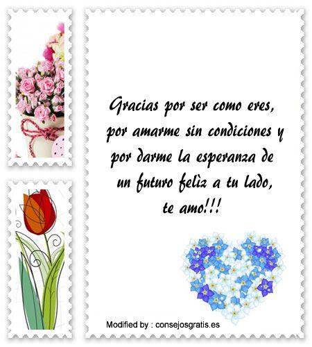 mensajes hermosos de amor para mi novia,mensajes bonitos de amor para mi enamorada: http://www.consejosgratis.es/frases-tiernas-de-amor/
