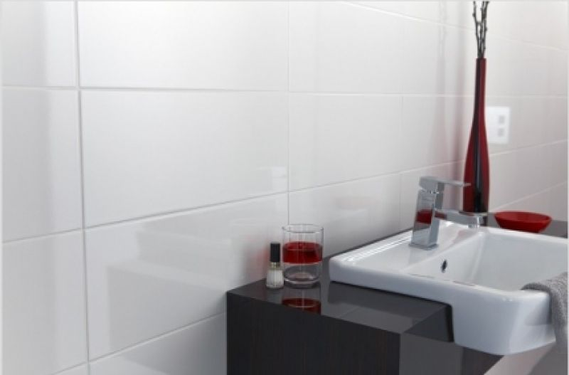 White High Gloss Ceramic Wall Tile 30x60cm White Bathroom Tiles White Tile Bathroom Walls White Wall Tiles