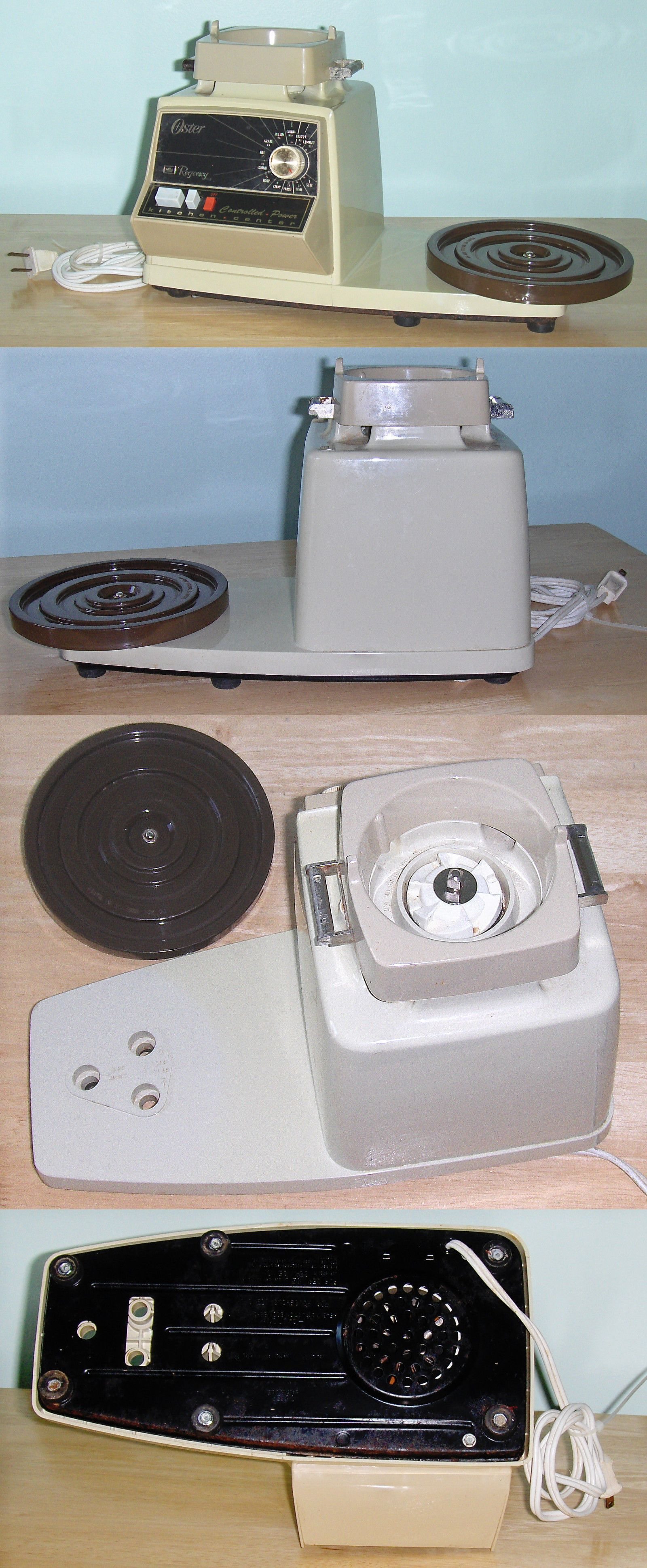 vintage small appliances 116013 oster regency controlled power rh pinterest com