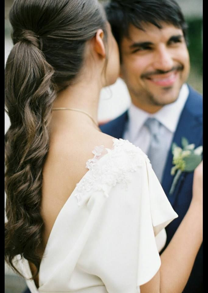 18 Super Relaxed Summer Wedding Hairstyles