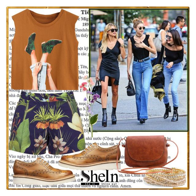 """""""Shein"""" by loveliest-back ❤ liked on Polyvore featuring Penfield, Grenson and Torrid"""