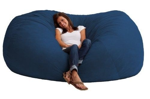 giant bean bag chair xxl oversized fuf foam basement bedroom dorm rh pinterest co uk