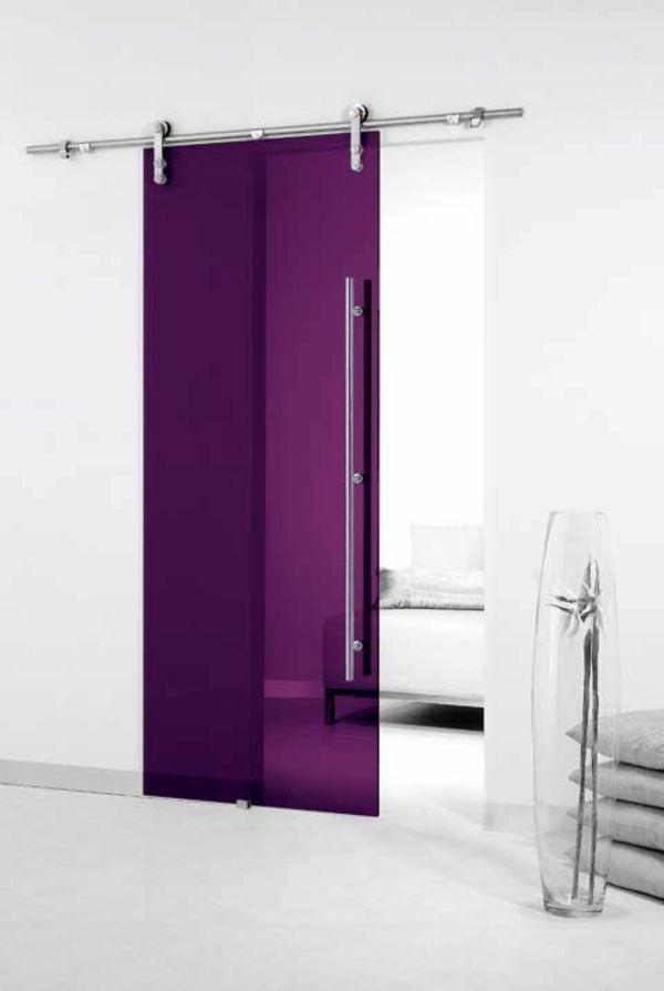 Wohnideen Türen glasschiebetüren moderne funktionale und elegante türen http