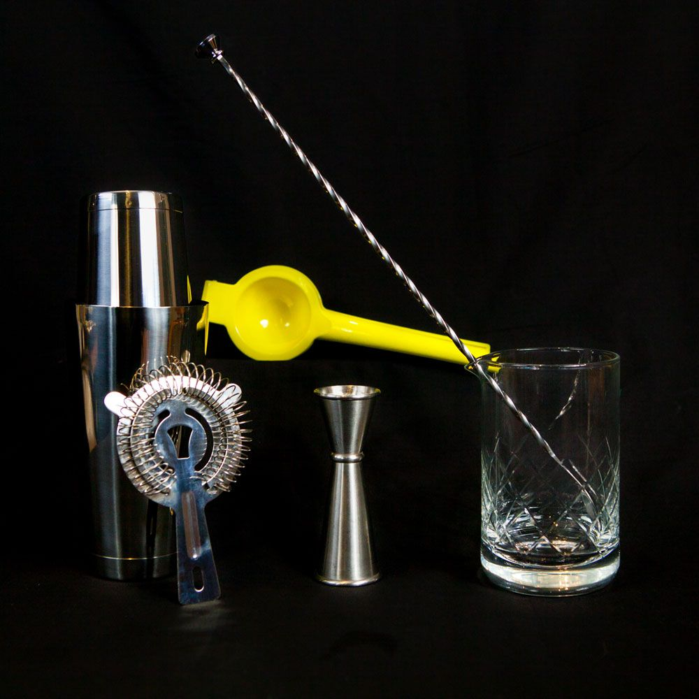 Essential Barware Set For Mixing Up Your Cocktails