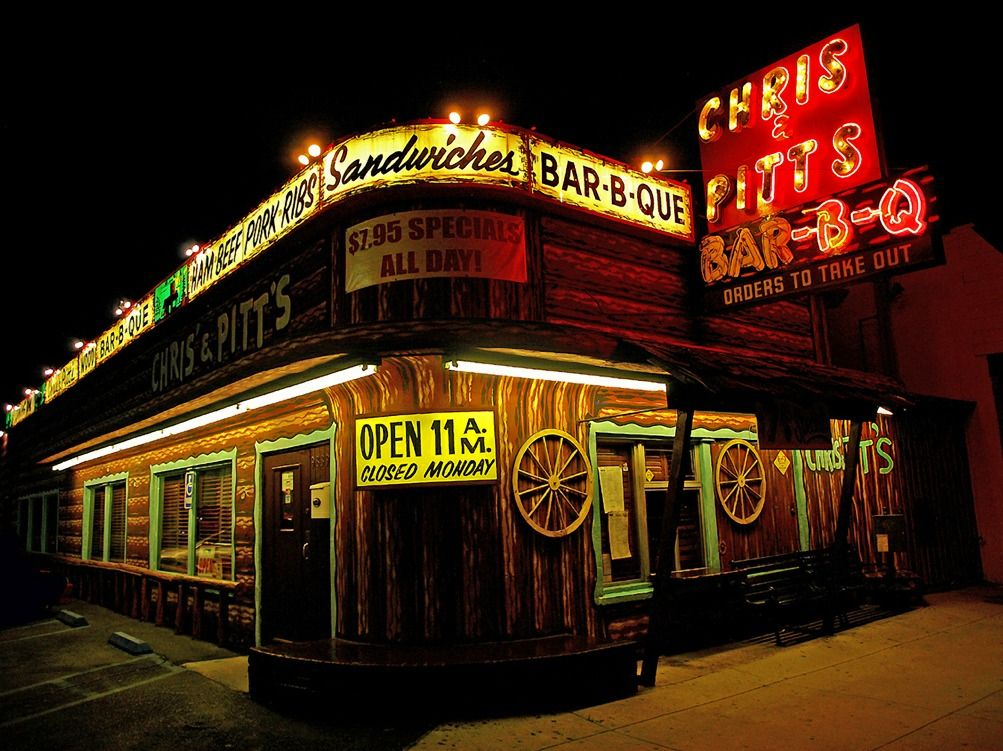 Chris pitts barbq bbq signs neon moon neon signs