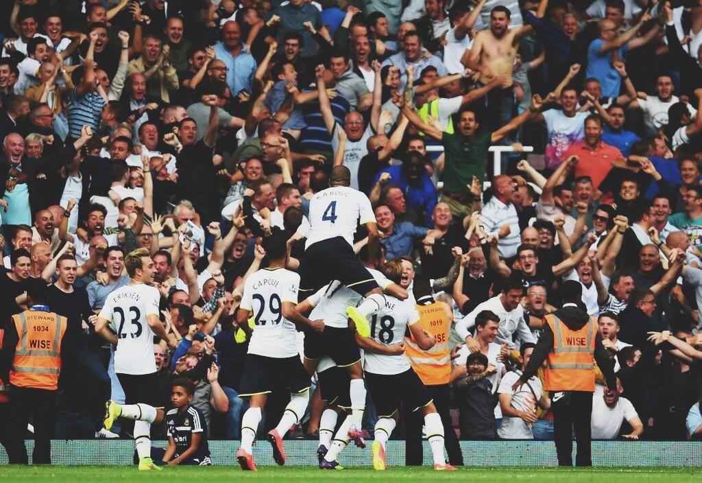 West Ham vs. Spurs 0-1 16-08 2014