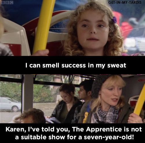 When Karen got lured into the The Apprentice trap: | Shows