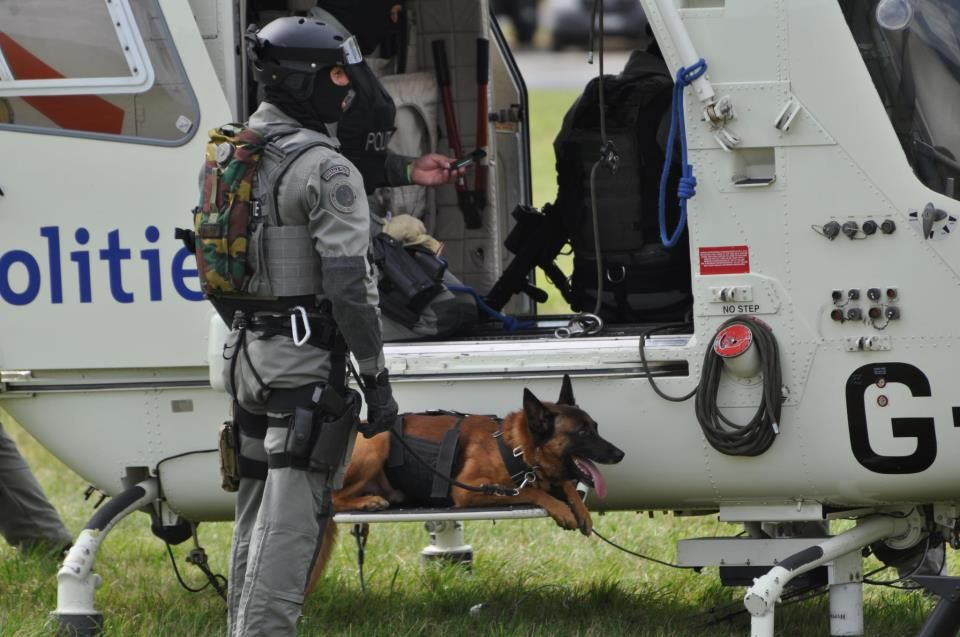 Bomb sniffing K9 leaves the force and receives