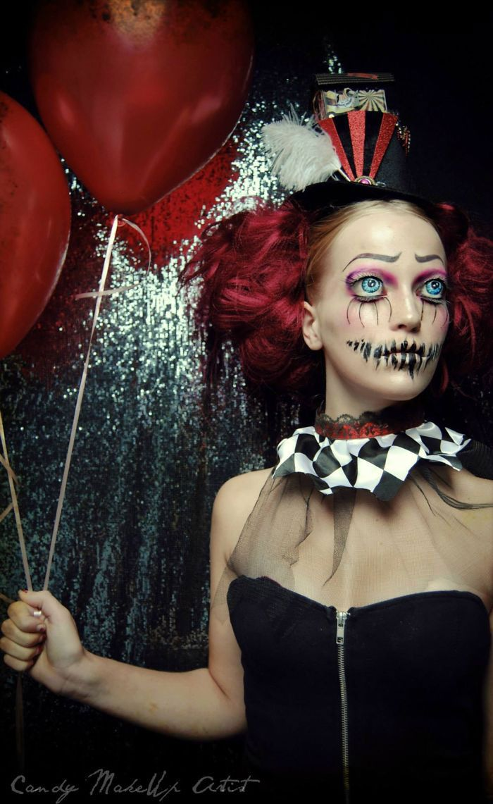 Maquillage,clown · Maquillage CarnavalMaquillage ClownMaquillage Halloween  FemmeMaquillage