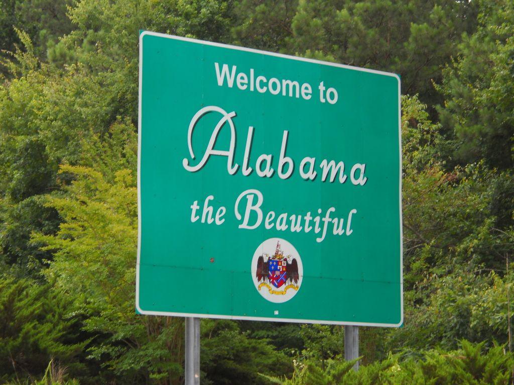 images alabama state line sign Google