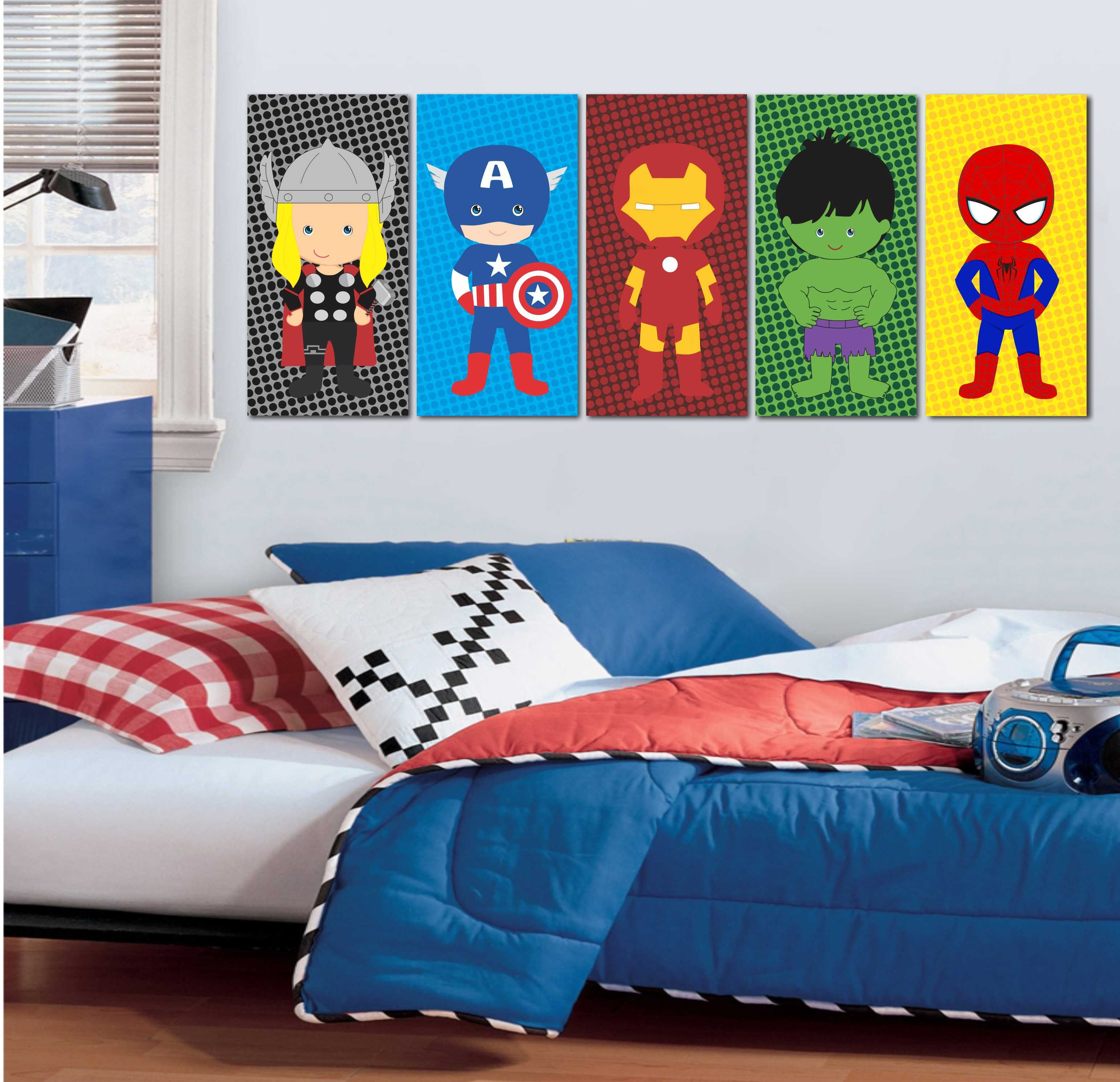 Resultado de imagem para quarto super herois baby for Dormitorio super heroes