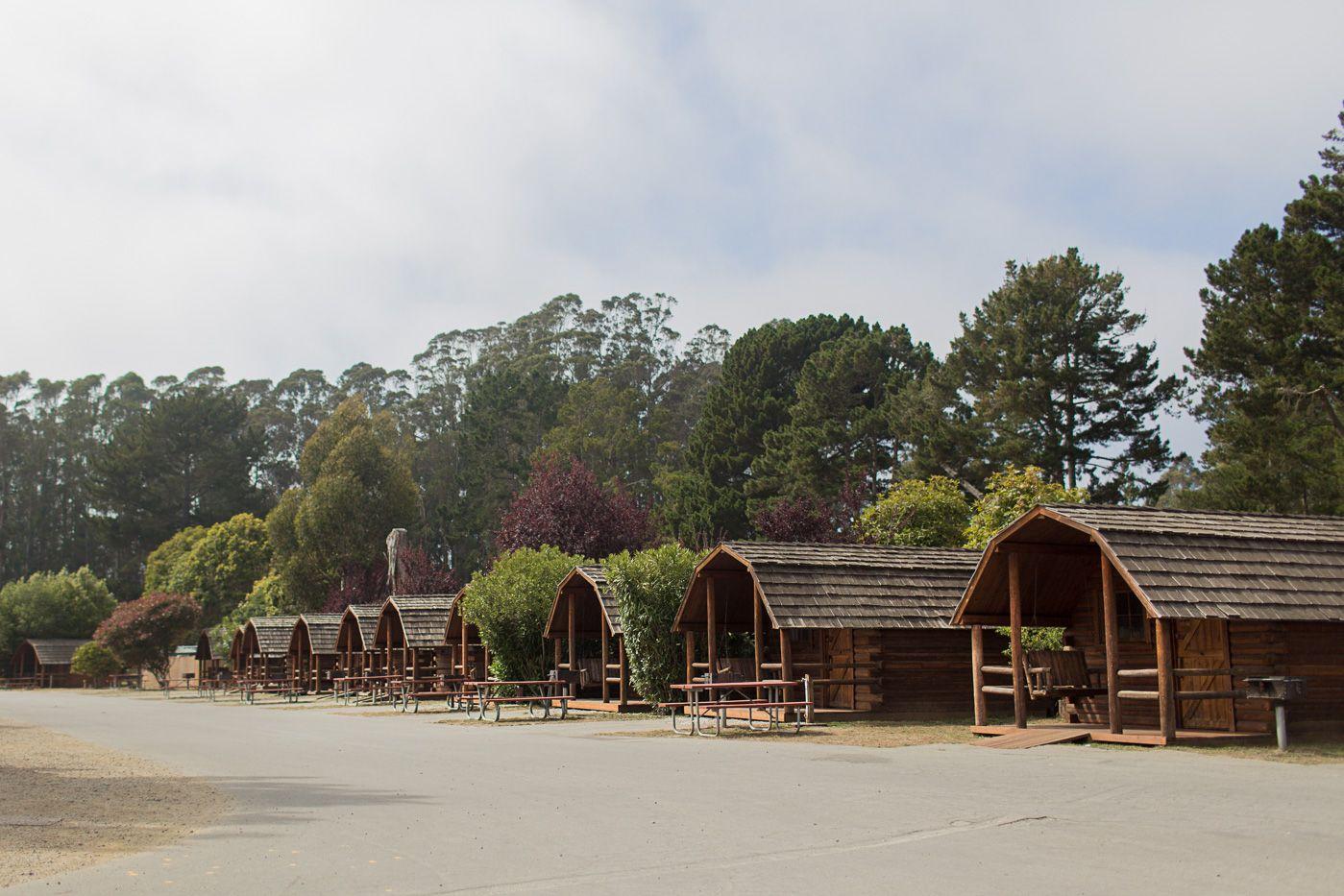Glamping Cabins At KOA Santa Cruz / Watsonville