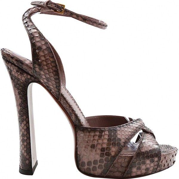 Pre-owned - Python heels Prada iFzzC1