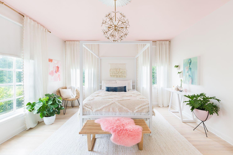 Pink modern bedroom Pink modern bedroom