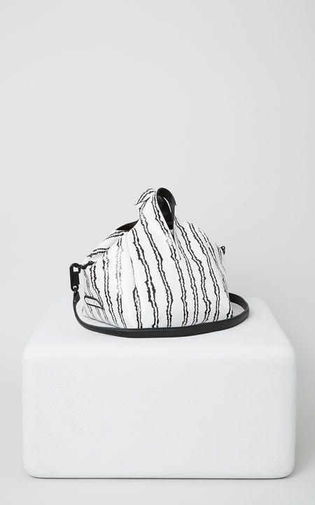 Runway mini tote bag, WHITE, KENZO