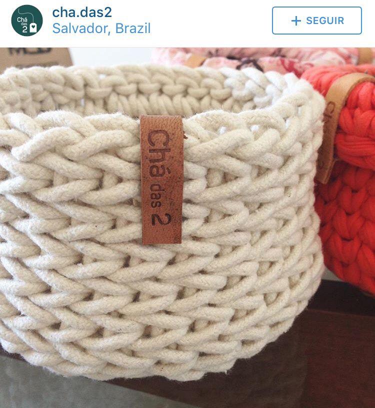 Pin de Laura Schuch en Crochet | Pinterest | Trapillo, Tejido y ...