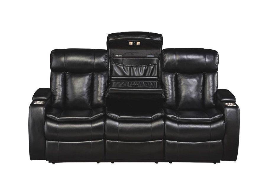 Cool Galaxy Power Reclining Sofa With Bluetooth Sofas Couches Customarchery Wood Chair Design Ideas Customarcherynet